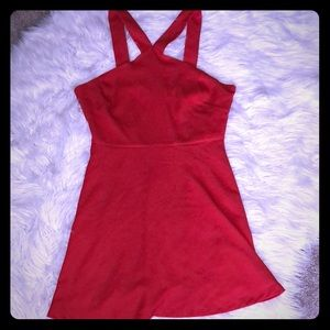 NWT Forever 21 Red Dress M